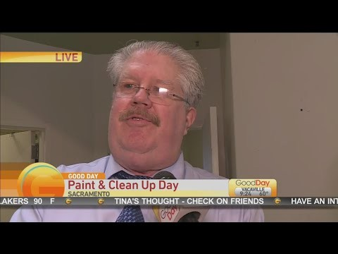 Good Day Sacramento – Paint & Clean Up Day